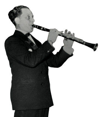 Dave Tarras playing clarinet
